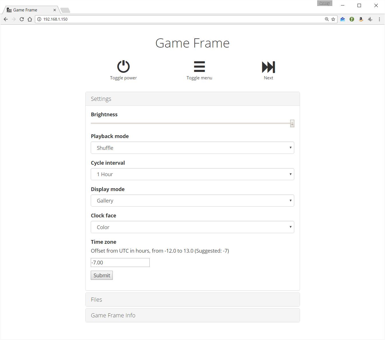 Game Frame Wi-Fi Adapter – LEDSEQ